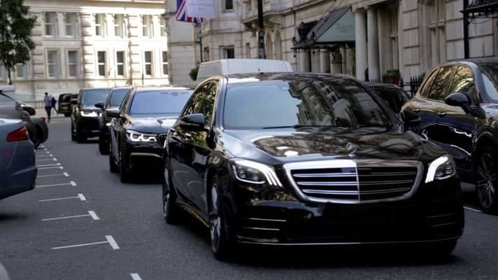 Close Protection Convoy Chauffeur Service